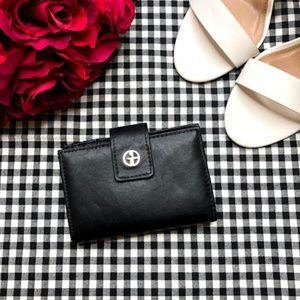 Giani Bernini Sandalwood Leather Index Wallet